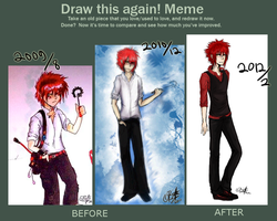 Draw this again meme vol 4 - reference pic by Bihve