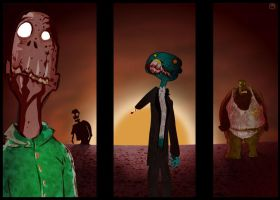 Zombies... by specius
