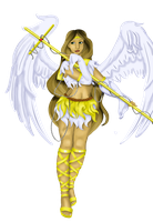 Commission - Sailor Archangel by purenightshade