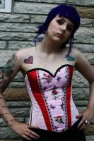 Pin Up Lolita Corset by KidThink