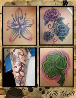 Tattoo layout 1 by Agreus