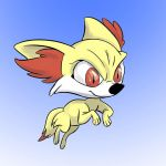 Fennekin by Totalmeep