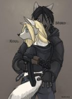 Koul and Murd by Wolfy-Nail by fc-2078
