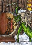 The Grasshopper and the Ant - Classic Fairy Tales by tonyperna