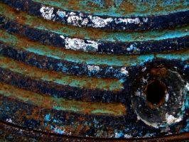 Rust and Blue II by Baq-Stock
