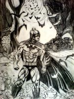 Batman Commission - Pencils by ThomasSchindler