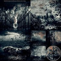 Extreme Metal 6 pages CD image Album Cover Artwork by MOONRINGDESIGN