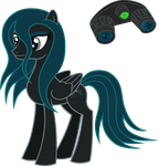 MLP Vector: Night Stalker by outlaw4rc