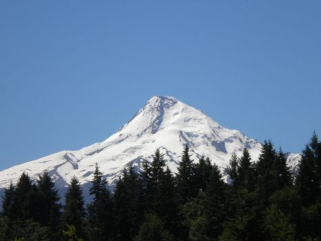 Mt Hood stock by thiselectricheart