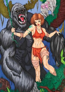 Jungle Book 3 Cover  by ATEXANYALL