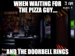 when waiting for the pizza guy.... by Sniper-Huntress
