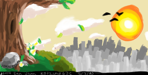 Practice in Windows Paint by Koizumi636