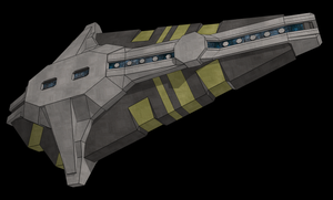 Spaceship in Sketchup by Zirik