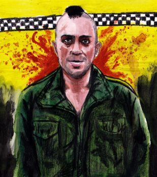 Travis Bickle - Taxi Driver - Robert DeNiro by smjblessing