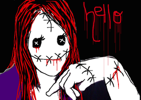 Hello by GrimKreaper