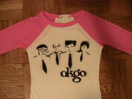 OK Go shirts by Allmypower