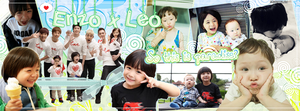 Enzo x Leo Facebook Cover by RadientGlow