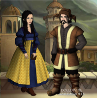 Bofur and Bombur's parents by art-is-my-bream