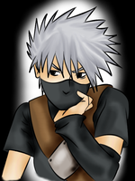 Young Kakashi Color by l-Shader-l
