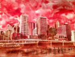 Brisbane City by misBEComing