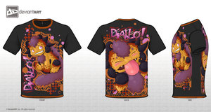 Diablo- Cute Monster Shirt by Sabreisk