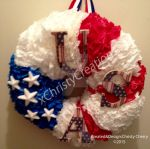 2015 July 4th Wreath by ChristyCherry