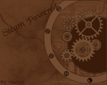 Steampunk Clockwork Wallpaper by mikeycp
