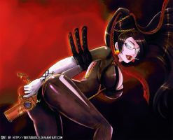 Happy B day: Bayonetta by DKSTUDIOS05