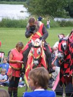 Jousting - Knight 97 by Axy-stock