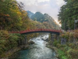 Shinkyo Bridge, Nikko by g-hennux