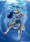 Under Water by playfurry