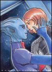 PSC - Shepard and Liara by aimo