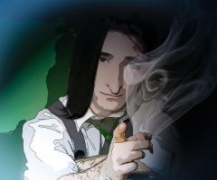Severus Snape: Don't mess with me by Simulcika