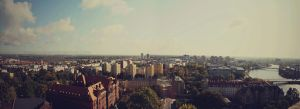 Wroclaw Panoramic by mywonderart
