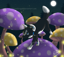 Sierra's Fireflies by GoldSnapDragon