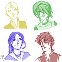 Avatar Doodles by blindbandit5