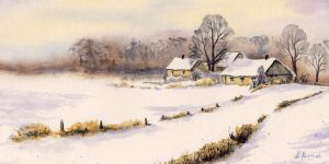 Winter in the Countryside by Alina-Kurbiel