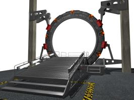Stargate SGC Side View by user4574