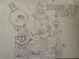Regular Show by emoaney18