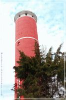 Red Tower by Miha3lla