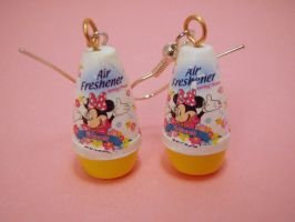 Air Freshener Earrings by PoniesOfDOOOM