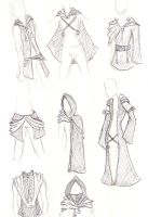 Org XIII Outfits +GUYS+ by Xedramon
