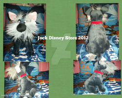 Jock Plush Disney Store 2012 by BeautifulHusky