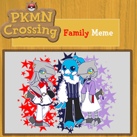 PKMNC: Murine Family Meme by Domisonic