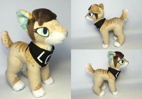 Tabs Plushie - Commission by TheRuffledRaven