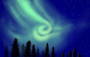 northern lights by Sarippus