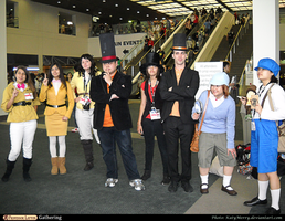 PL Gathering: Original Layton Trio by KatyMerry