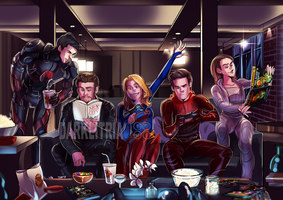 DC Crossover (redrew) by DarkLitria