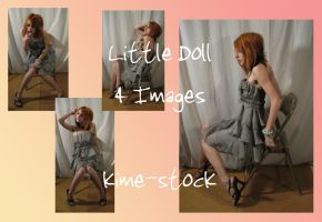Little Doll 3 by kime-stock