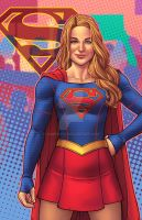 Supergirl - Women's March by JamieFayX